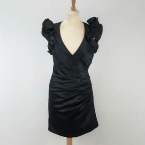 New French Connection V neck fitted dress